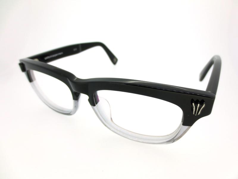 【中古】uniform experiment×泰八郎謹製/ユニフォームエクスペリメント×タイハチロウキンセイ 眼鏡 メガネ / ウェリントン