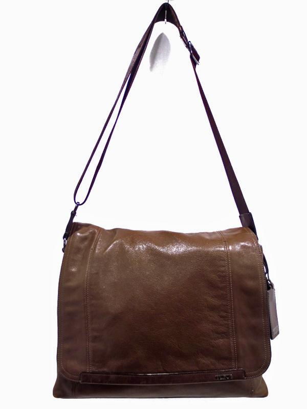【中古】TUMI|トゥミ 68670 Centro Verona Flap Messenger Bag セントロ ヴェローナ フラップ メッセンジャーバッグ / ショルダーバッグ カラー:ブラウン系
