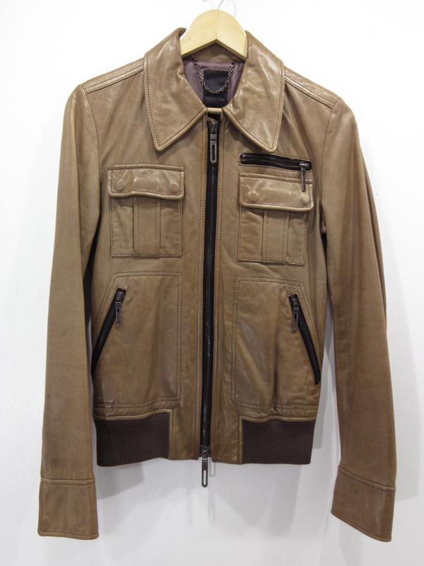 GalaabenDガラアーベント羊革 ラムレザージャケット サイズ M カラー ブラウン系インポートYWEDI29Heb