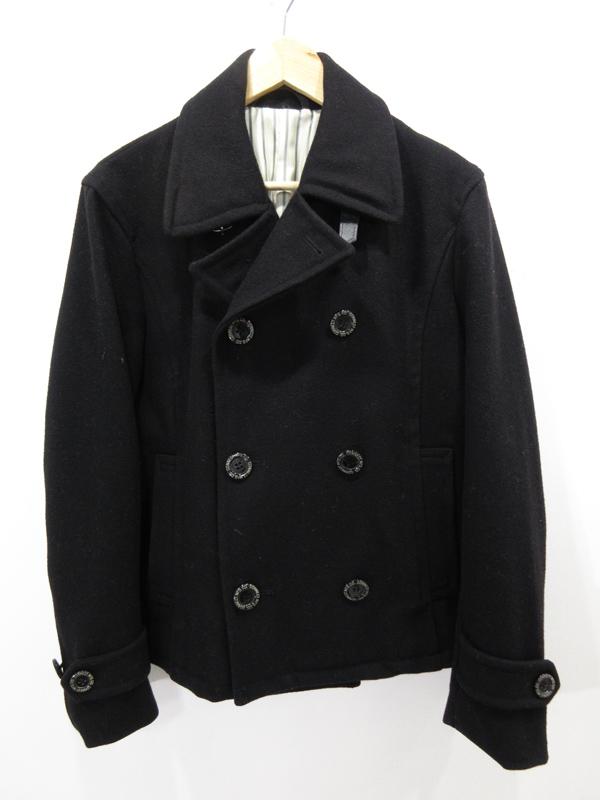 【中古】Pherrow's/フェローズ ショートPコート POSJ1 サイズ:38 カラー:ブラック / アメカジ