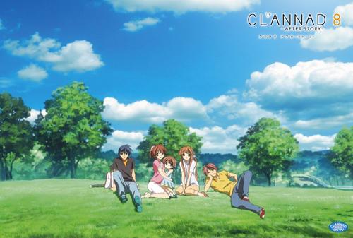 CLANNAD AFTER STORY 初回限定版 全8巻セット【中古】【アニメ・特撮DVD】
