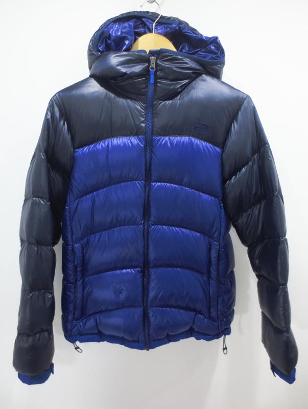【中古】THE NORTH FACE/ノースフェイス アコンカグアフーディー ダウンジャケット NDW91314 サイズ:XL カラー:ブルー系 / アウトドア