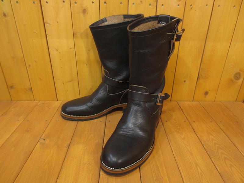 【中古】TROPHY CLOTHING トロフィークロージング エンジニアブーツ サイズ:8 カラー:ブラック