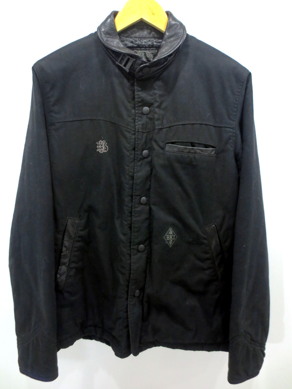 【中古】NEIGHBORHOOD/ネイバーフッド B.I BOMBER 裏ボアジャケット サイズ:M カラー:ブラック / ストリート