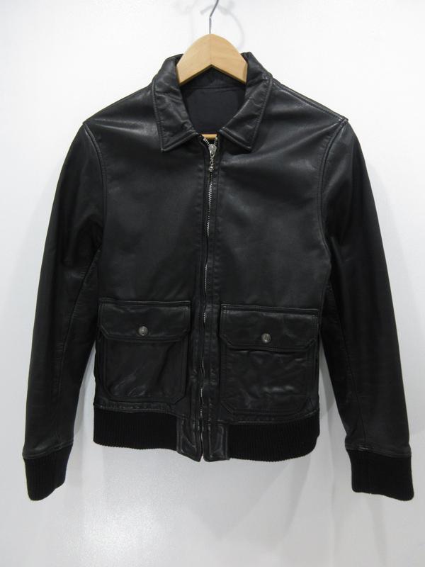【中古】GARNI/ガルニ レザージャケット サイズ:M カラー:ブラック