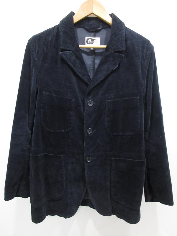 【中古】Engineered Garments/エンジニアードガーメンツ コーデュロイジャケット サイズ:M カラー:ブラック系 / セレクト