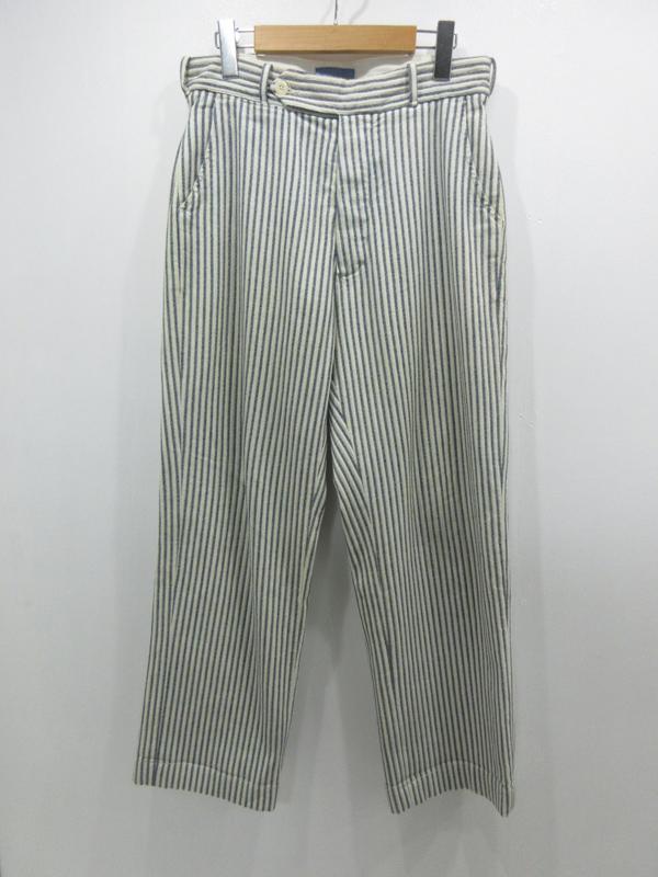 【中古】LEVI'S VINTAGE CLOTHING/リーバイスビンテージクロージング ヒッコリーワークパンツ サイズ:30 カラー:- / アメカジ