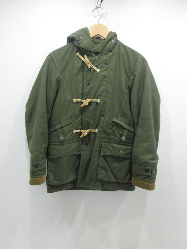 【中古】Engineered Garments/エンジニアードガーメンツ ダッフルコート サイズ:1 カラー:カーキ / セレクト