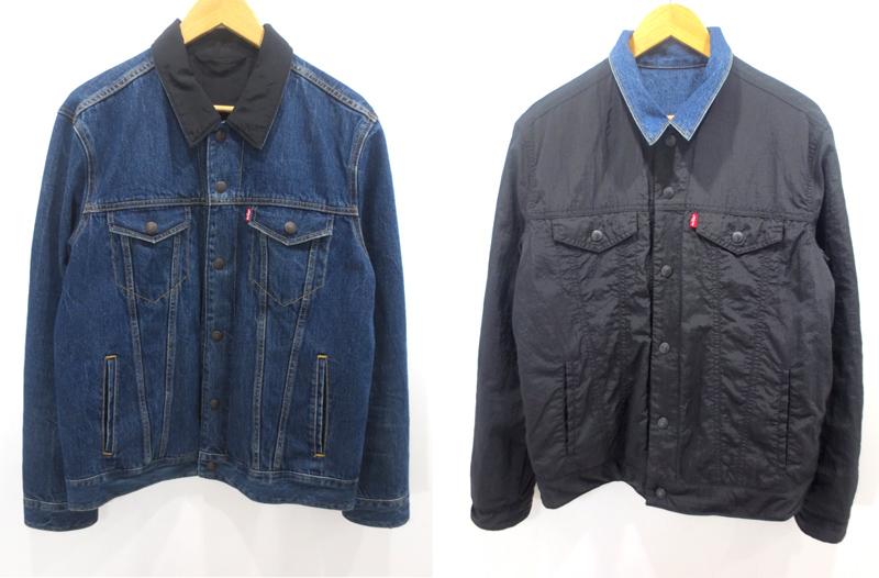 【中古】Levi's/リーバイス リバーシブルトラッカージャケット サイズ:M カラー:-