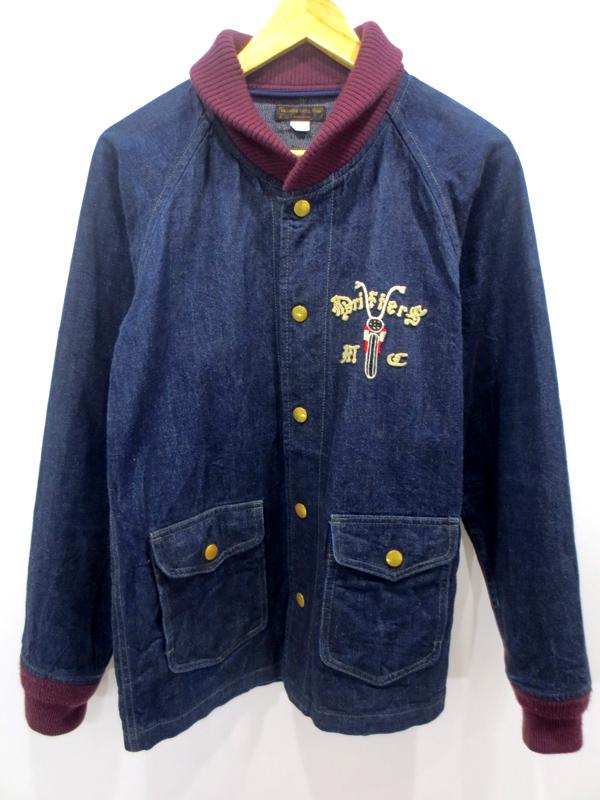 【中古】WEST RIDE/ウエストライド DRIFTERS カーコート ジャケット サイズ:36 カラー:インディゴ / ドメス