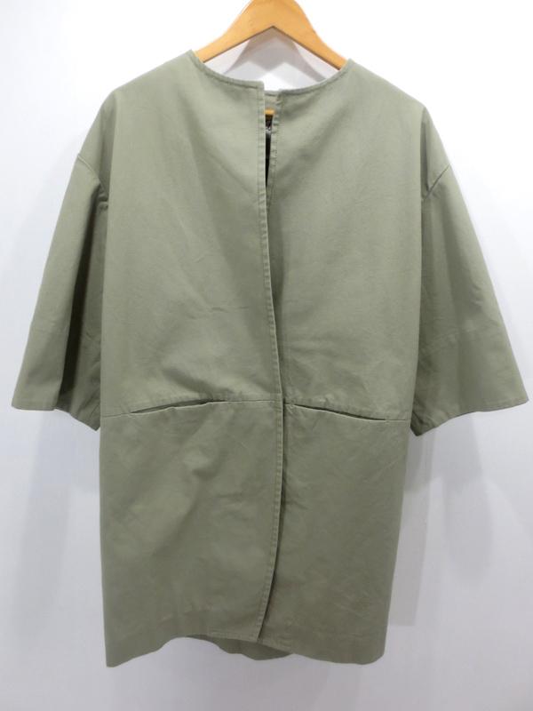 【中古】FRAMeWORK/フレームワーク キャンパスコクーンコート サイズ:36 カラー:カーキ / セレクト