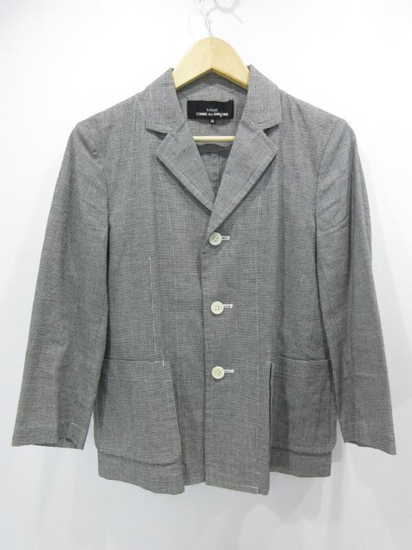 【中古】tricot COMME des GARCONS/トリココムデギャルソン テーラードジャケット サイズ:M カラー:-