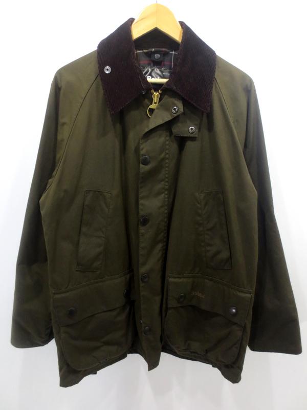 【中古】Barbour/バブアー CLASSIC BEDALE オイルドジャケット サイズ:38 カラー:カーキ / インポート【f094】