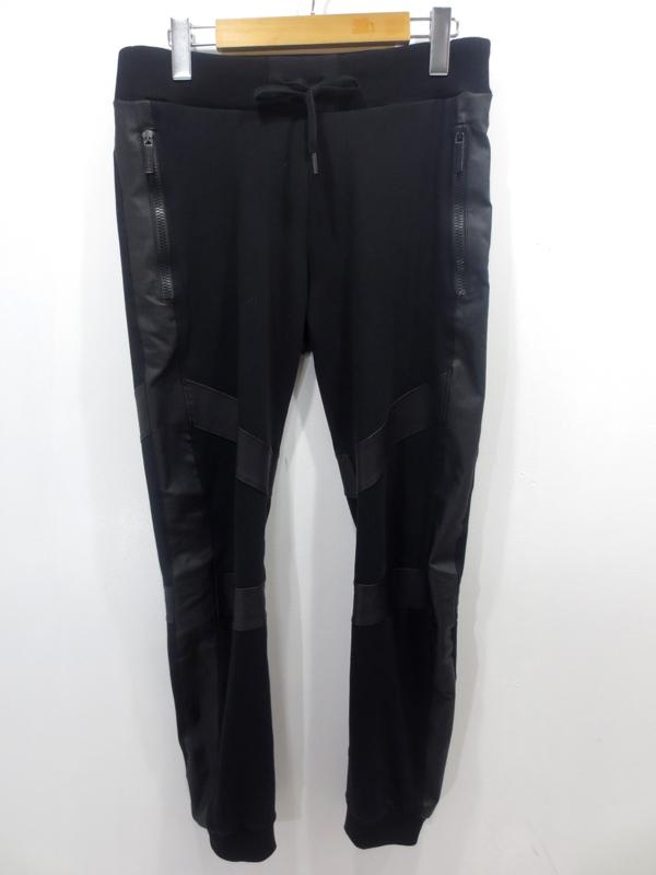 【中古】VERSACE JEANS/ヴェルサーチジーンズ スウェットパンツ サイズ:XS カラー:ブラック / インポート【f108】