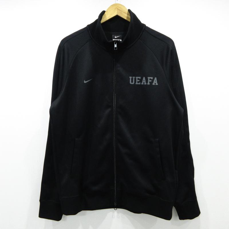 【中古】uniform experiment×NIKE/ユニフォームエクスペリメント×ナイキ SOPH.TOKYO 12周年記念 トラックジャケット サイズ:XL カラー:ブラック / ストリート【f103】