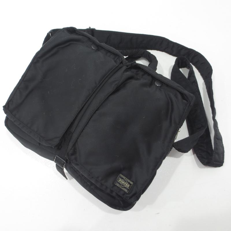 【中古】PORTER|ポーター 吉田カバン TANKER 2WAYバッグ サイズ:- カラー:ブラック【f121】