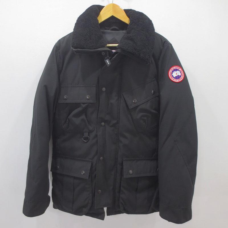 【中古】CANADA GOOSE|カナダグース ダウンジャケット サイズ:M カラー:ブラック / インポート【f108】