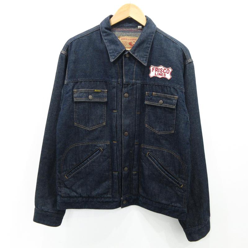 【中古】Pherrow's フェローズ デニムジャケット サイズ:XL カラー:インディゴ / アメカジ【f093】