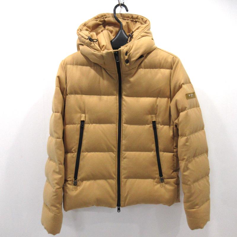 【中古】TATRAS/タトラス GIACINTO ダウンジャケット MTK18A453 サイズ:2 カラー:キャメル【f108】