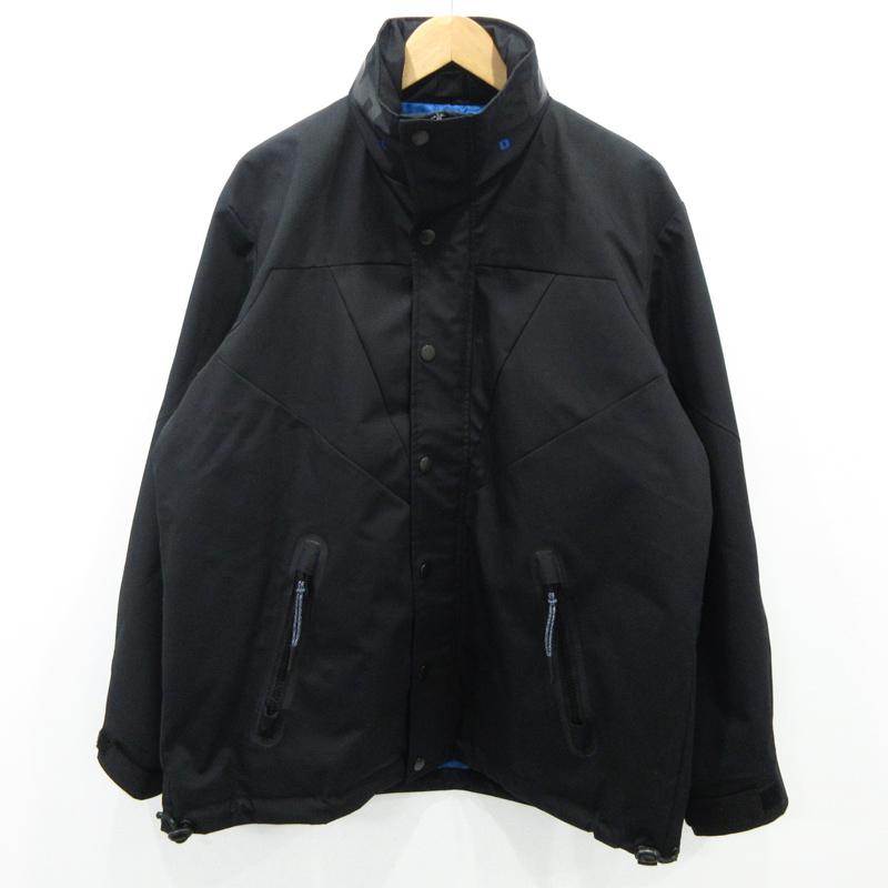【中古】DIESEL/ディーゼル ナイロンジャケット サイズ:M カラー:ブラック / インポート【f094】