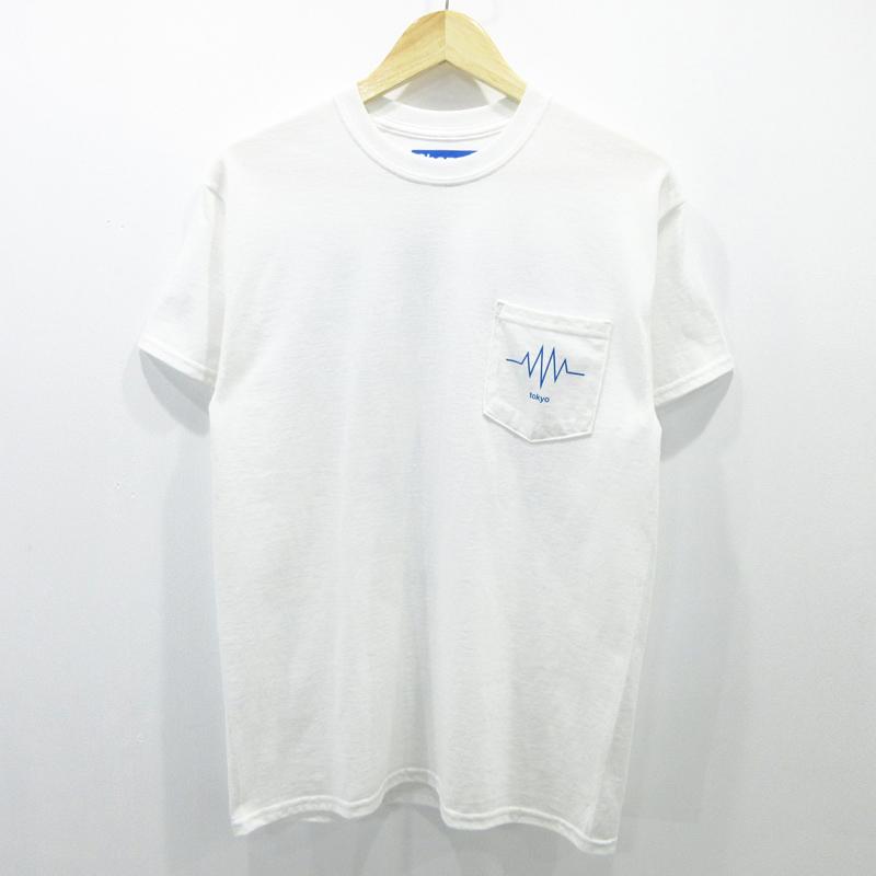 【中古】Phazer Tokyo|フェイザー トーキョー ポケット 半袖Tシャツ サイズ:M カラー:ホワイト / ストリート【f103】