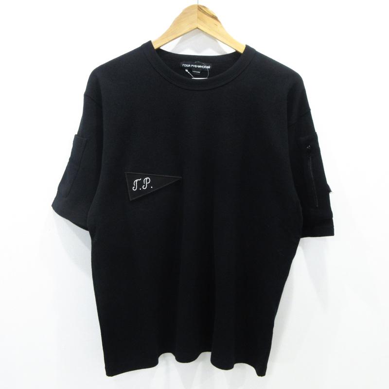 【中古】Gosha Rubchinskiy|ゴーシャラブチンスキー 半袖Tシャツ サイズ:M カラー:ブラック【f108】