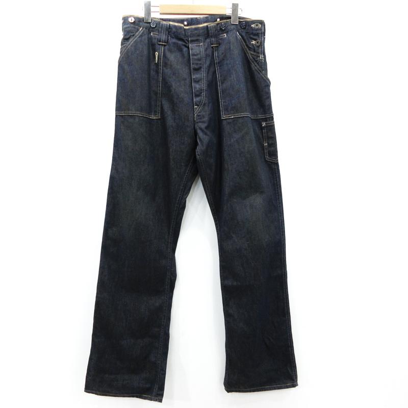 【中古】LEVI'S VINTAGE CLOTHING|リーバイスビンテージクロージング LOT66 ペインターパンツ 66000-0005 サイズ:32 カラー:インディゴ【f107】