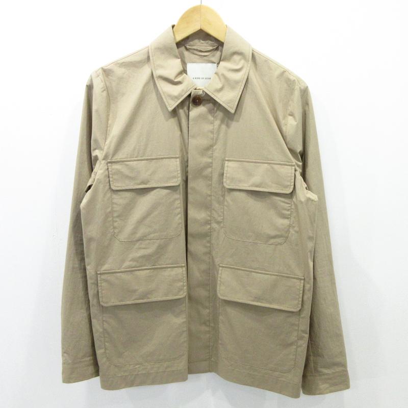 【中古】A KIND OF GUISE|ア カインド オブ ガイズ Napoli Jacket ナポリジャケット サイズ:S カラー:ベージュ系 / インポート【f094】