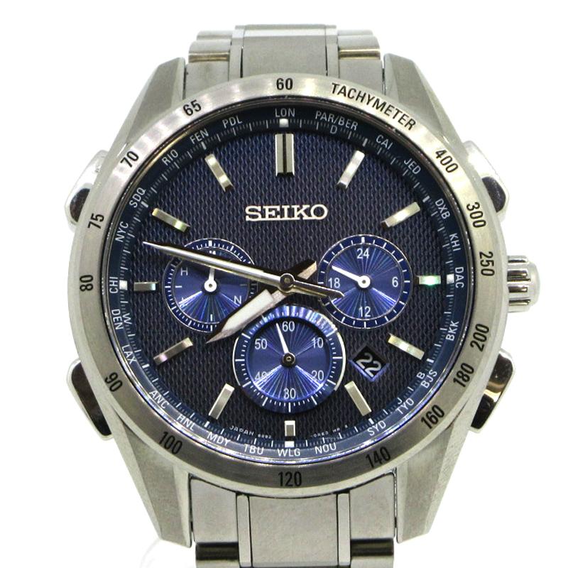 【中古】SEIKO|セイコー SEIKO BRIGHTZ セイコー ブライツ SAGA191 腕時計 サイズ:- カラー:ブルー【f131】