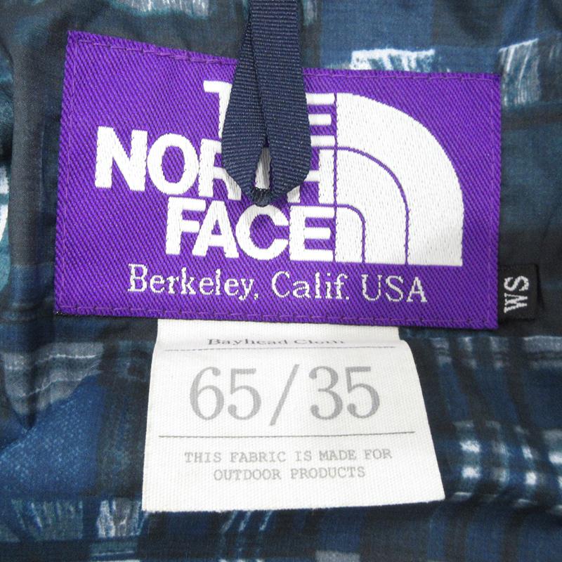 THE NORTH FACE PURPLE LABEL|ザノースフェイスパープルレーベル マウンテンパーカー NP2107N サイズ WS カラー ブルー系カジュアル f111xBdeWrCo