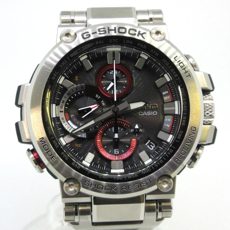 【中古】CASIO|カシオ G-SHOCK ジーショック Bluetooth スマートフォンリンクモデル 腕時計 MTG-B1000D-1AJF サイズ:- カラー:-【f131】