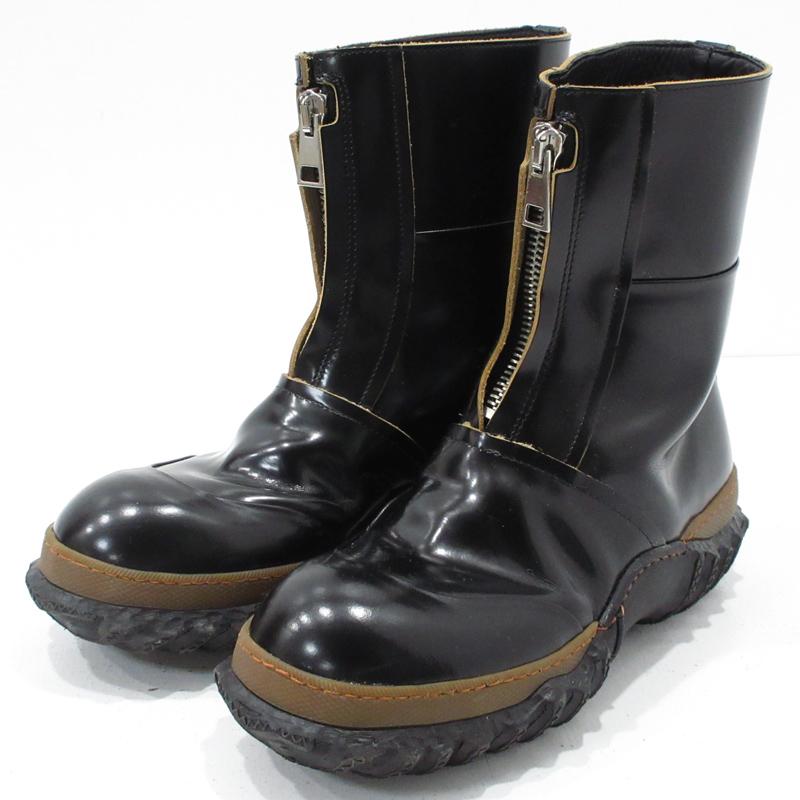 【中古】MARNI|マルニ ブーツ サイズ:42 カラー:ブラック【f127】