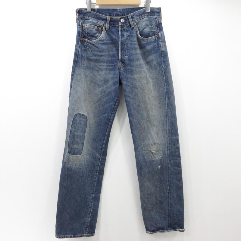 【期間限定】ポイント20倍【中古】LEVI'S VINTAGE CLOTHING|リーバイス ビンテージ クロージング 1955年モデル 501XXジーンズ デニムパンツ 50155-0048 サイズ:29 カラー:インディゴ【f107】