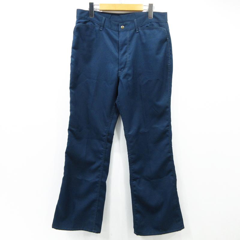 【中古】Needles|ニードルス ブーツカットパンツ DI110 サイズ:M カラー:ブルー系【f107】