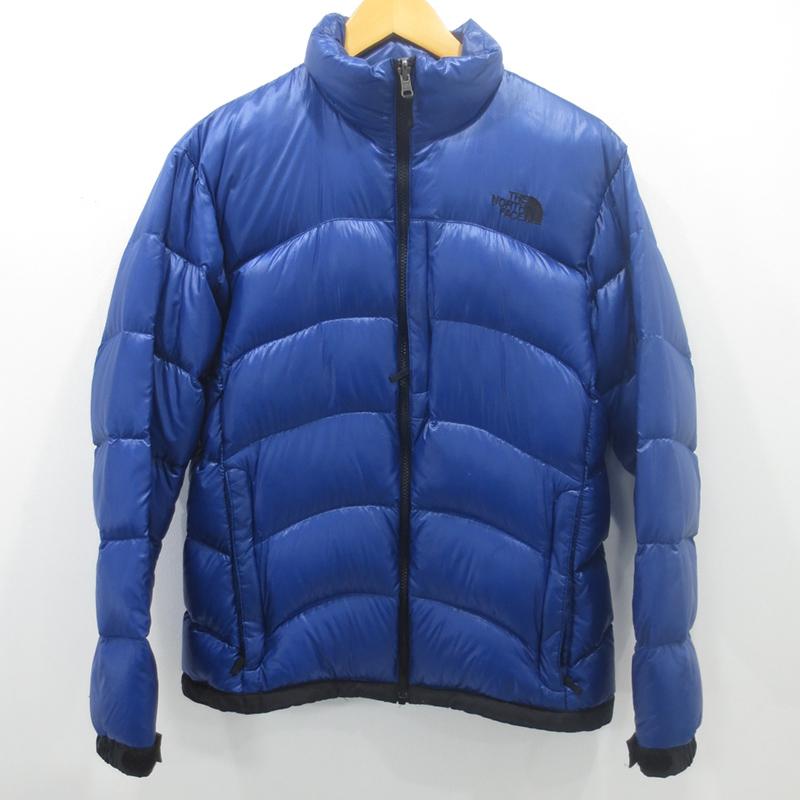 【中古】THE NORTH FACE|ザ ノースフェイス アコンカグアジャケット ダウンジャケット ND91322 サイズ:M カラー:ブルー / アウトドア【f092】