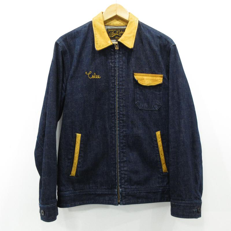 【中古】CALEE キャリー デニムジャケット サイズ:L カラー:インディゴ / ルード【f096】