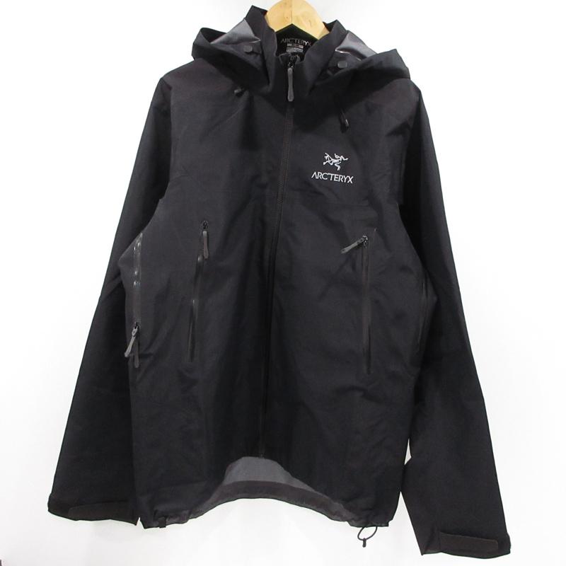 【中古】ARC'TERYX アークテリクス GORE-TEX マウンテンジャケット CA34438 サイズ:M カラー:ブラック / アウトドア【f092】