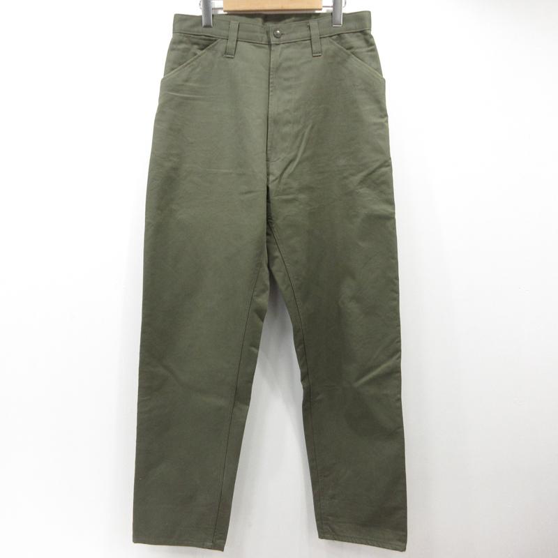 【中古】E.TAUTZ イートウツ パンツ サイズ:32 カラー:カーキ【f107】