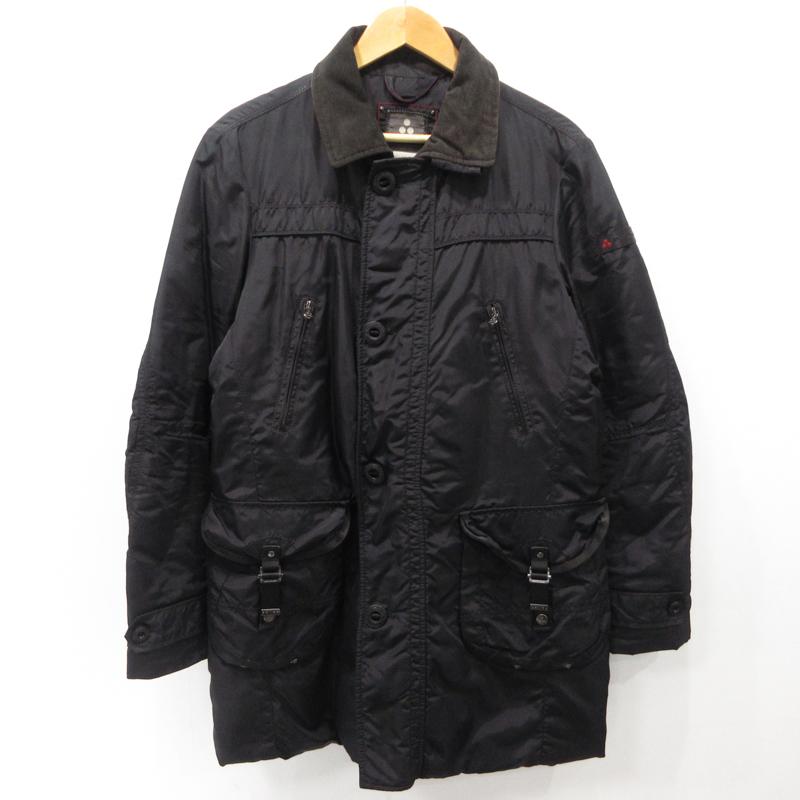 【中古】Peuterey|ピューテリー ダウンジャケット SHOOTER サイズ:46 カラー:ブラック / インポート【f094】