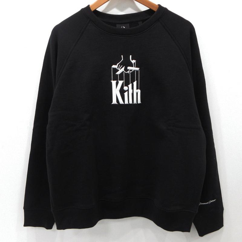 【中古】KITH|キス Puppet Crewneck スウェット トレーナー KH2461-100 サイズ:M カラー:ブラック / ストリート【f103】
