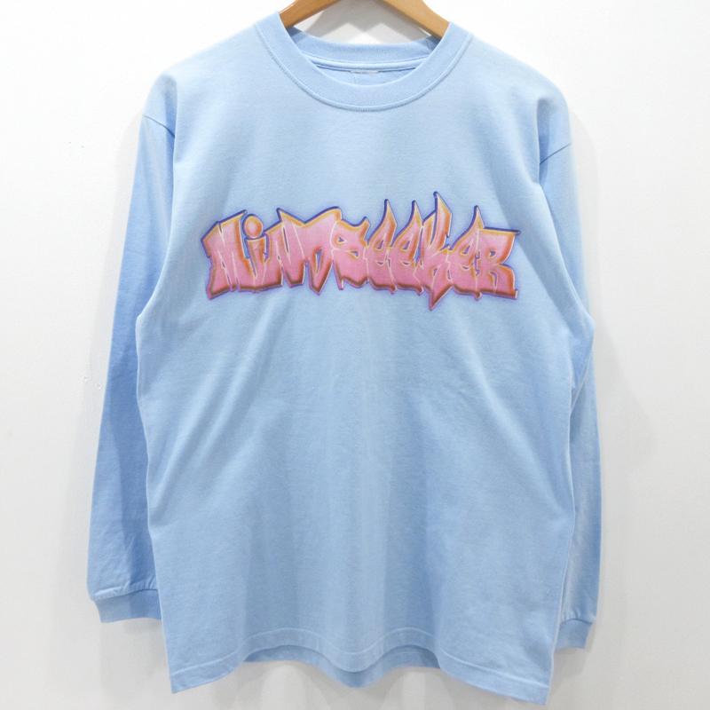 【中古】MINDSEEKER|マインドシーカー Tシャツ 長袖 サイズ:L カラー:ブルー系【f108】
