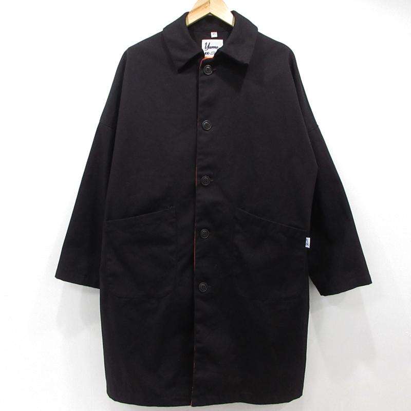 【中古】Yarmo ヤーモ SOPHNET.コラボ DUSTER COAT コート SOPH-180164 サイズ:40 カラー:ブラック / アメカジ【f093】