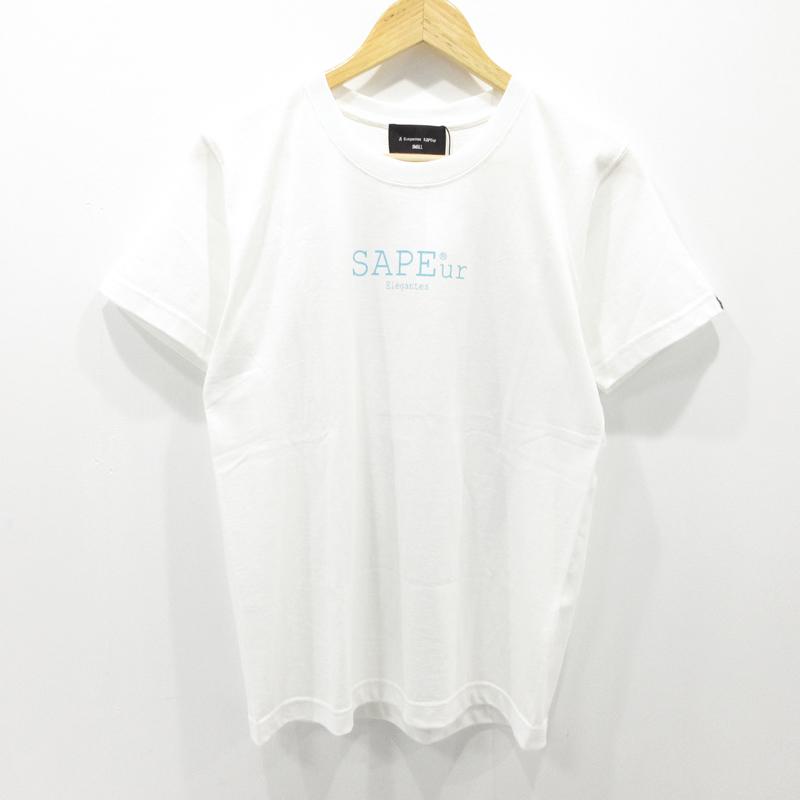 【中古】A Elegantes SAPEur|サプール Tシャツ 半袖 ホワイト サイズ:S / ストリート【f103】