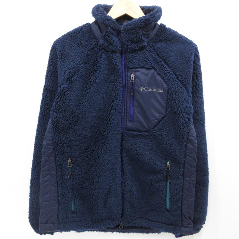 【中古】Columbia コロンビア アーチャーリッジジャケット ボアフリースジャケット PM3743 サイズ:M カラー:ネイビー / アウトドア【f092】