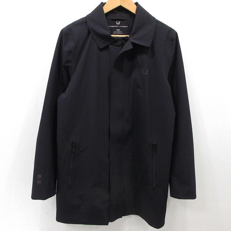 【中古】UBR|ウーバー レギュレーターコート ステンカラーコート サイズ:M カラー:ブラック / インポート【f094】