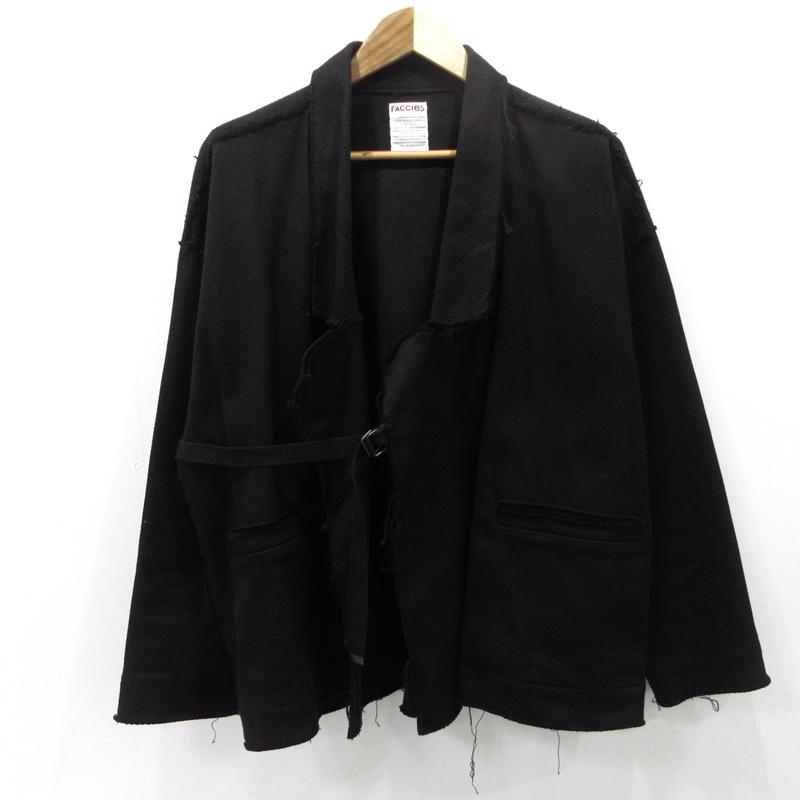 【中古】FACCIES ファッチーズ ジャケット 19SS FCS19SF001 サイズ:F カラー:ブラック【f096】