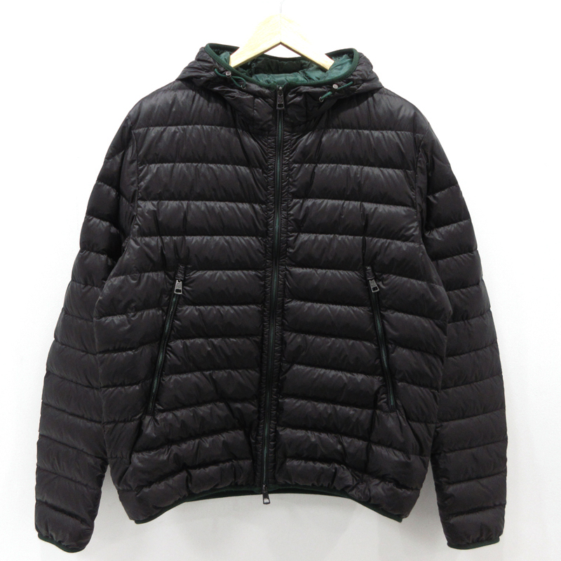 メーカー直売 中古 MONCLER モンクレール MIR GIUBBOTTO ブラック サイズ:5 ライトダウンジャケット f108 直営限定アウトレット