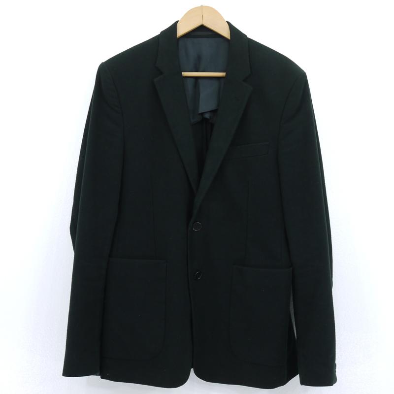 中古 ACNE STUDIOS (訳ありセール 格安) アクネ ストゥディオズ ブラック f108 テーラードジャケット サイズ:46 毎週更新