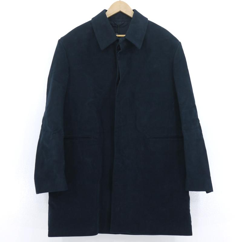 【中古】RAF SIMONS|ラフ・シモンズ Short Martingale Coat  ショートマルチンゲールコート 19AW ネイビー サイズ:48【f108】