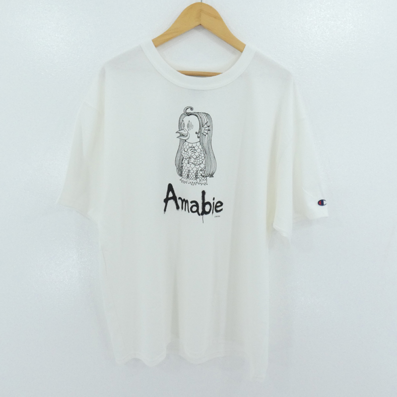 激安な 【】Tonari no Zingaro|トナリノジンガロ Amabie T-shirts 半袖Tシャツ ホワイト サイズ:L【f103】, ストール帽子のJPコンセプト 9855c9e2